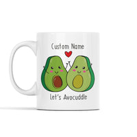 (Custom Name) Let's Avo-Cuddle Personalized Mug
