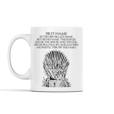 Personalized - GOT King Mug