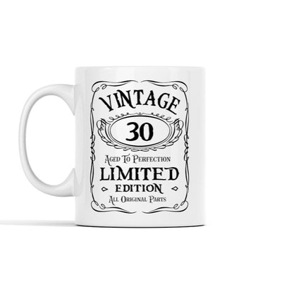 Vintage Aged Perfection Personalized Mug