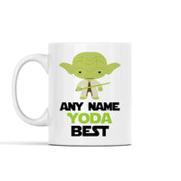 Personalized Any Name Yoda Best Mug