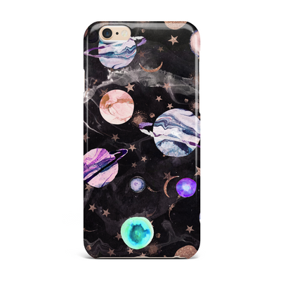 Marble Galaxy Phone Case