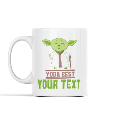 Yoda Best (Custom) Personalized Mug