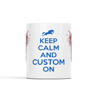 Keep Calm And (Custom) On - Horse Lover Personalized Mug