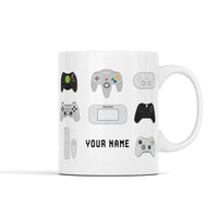 Game Controller Personalized Mug