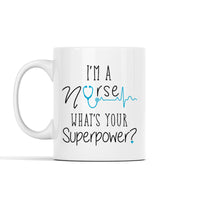 Personalized Super Nurse Mug