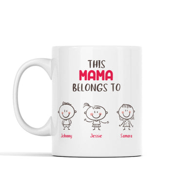 This (Custom) Belongs To Mug - Personalized