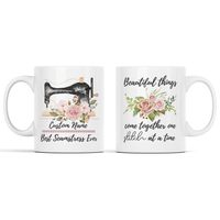 Best Seamstress Ever (Custom Name) Personalized Mug