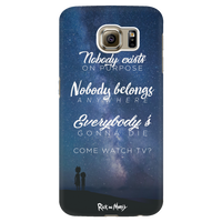 Nobody Exists on Purpose Phone Case