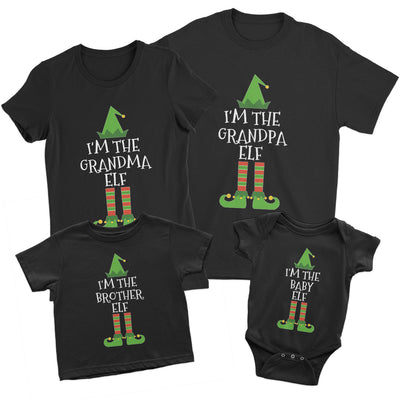 Christmas Elf Family Matching Shirts