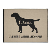 Labrador Retriever Personalized Indoor/Outdoor Floor Mats