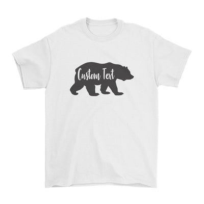 Custom Name Bear Family Matching Shirts