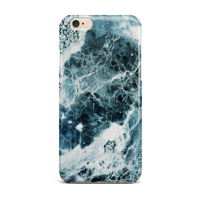Blue Sea Marble Phone Case