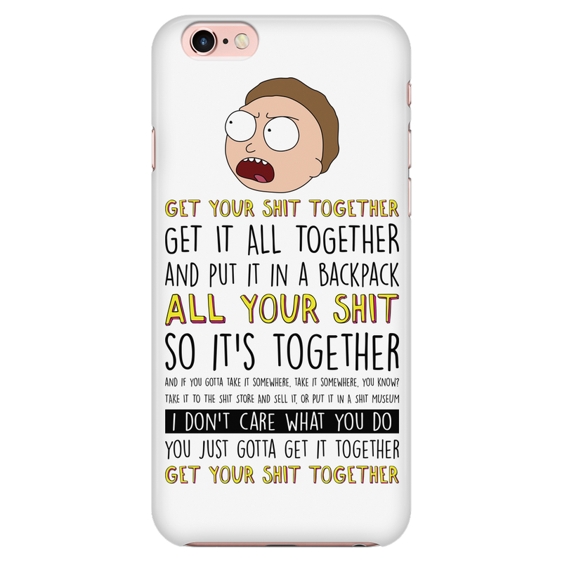 cheap for discount 9edc7 9fe4c Get Your Sh*t Together Phone Case | Bamugi