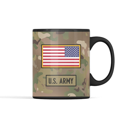 Personalized - US Army All Ranks Mug