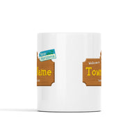 Animal Crossing Town Name Personalized Mug