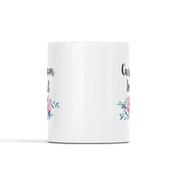 Floral Personalized Text Mug