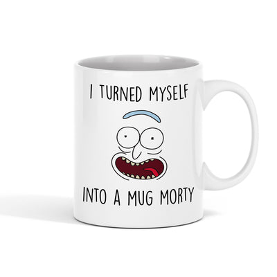 I Turned Myself Into a Mug