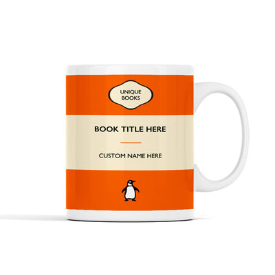 Personalized - Classic Vintage Book Lover Mug