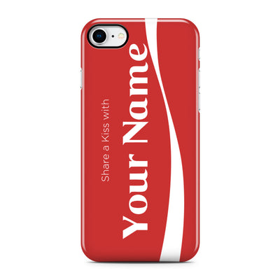Coke Inspired Custom Name Phone Case - Personalized