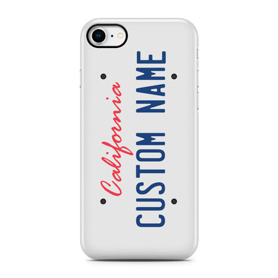 License Plate Phone Case, Personalized