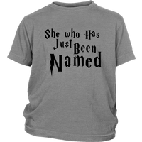 She Who Has Just Been Named