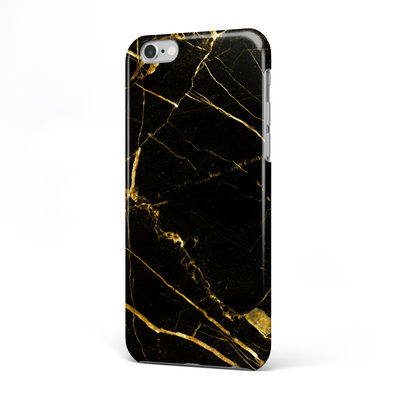 Black Gold Marble Phone Case