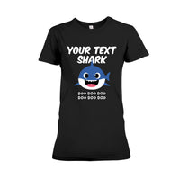 (Custom) Shark Doo Doo Doo Personalized T-shirt
