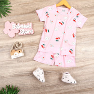 [0011010] - Baju Setelan Santai Anak Import - Motif Crown of Clouds