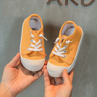 [365101-YELLOW] - Import Sepatu Kets Anak Kekinian - Motif One Full Color