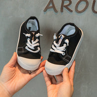 [365101-BLACK] - Import Sepatu Kets Anak Kekinian - Motif One Full Color