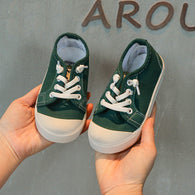 [365101-GREEN] - Import Sepatu Kets Anak Kekinian - Motif One Full Color