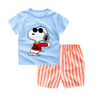 [102142] - Setelan Anak Import - Motif Happy Snoopy [B3106]