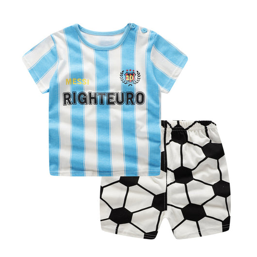 jual [102197] - Daily Wear Anak Usia 9 Bln - 4 Thn - Motif Country Messi Clothes