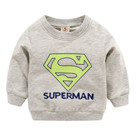 jual [102209] - IMPORT Atasan Sweater Anak 1 - 4 Thn - Motif Superman