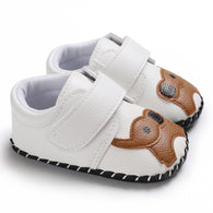 [105247-WHITE] - Sepatu Anak Prewalker Import / Baby Shoes - Motif Big Elephant