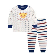 jual [104149] - Sleep Wear Cartoon - Motif Head Bear [B3099]
