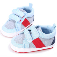 [105168-LIGHT BLUE] - Sepatu Bayi Prewalker Multicolor [B9101]