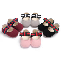 jual [105242] - Baby Shoes Prewalker 0 - 18 Bln - Motif Flat Shoes Stripe
