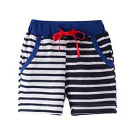 [357171] - Celana Training Anak  / Celana Santai Anak - Motif Black & White Striped