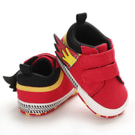 [105253-RED] - Stylish Shoes / Sepatu Anak Prewalker Import - Motif Fire Accessories