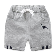 jual [119200-LIGHT GRAY] - Celana Pendek Training Anak Sporty - Motif Embroidery Animal