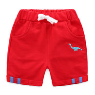 jual [119200-RED] - Celana Pendek Training Anak Sporty - Motif Embroidery Animal