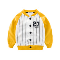 [121248-YELLOW] - Atasan Jaket Baseball Anak Import - Motif I.m Kids