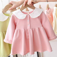 [362131-PINK] - Dress Anak Perempuan Trendi - Motif Big Rabbit Lace