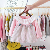 [352199] - Dress Import Anak Perempuan Sweet Fashion - Motif Two Banded Rabbits