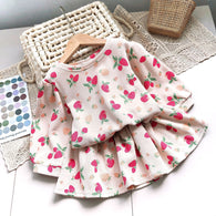 [363237] - Setelan Import Fashion Trend Anak Perempuan - Motif Sweet Strawberry