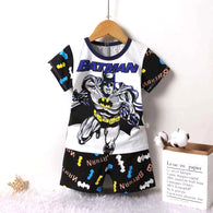 jual [2251024] - Home Short Suit Anak Usia 1 - 6 Thn - Motif Short Sleeve Batman