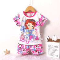 jual [2251036] - Summer Wear Anak Usia 1 - 6 Thn - Motif Sofia The First