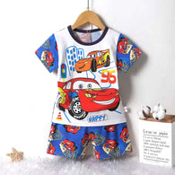 jual [2251042] - Summer Wear Anak Usia 1 - 9 Thn - Motif Happy Mc Queen