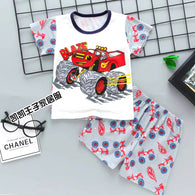 jual [2251063] - Home Suit Anak Usia 1 - 6 Thn - Motif Cartoon Blaze
